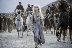 "Daenerys with the Dothraki Game of Thrones, Episode 603: ""Oathbreaker"