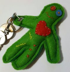 This item is unavailable Button Eyes, Heart Button, Quitting Smoking Side Effects, Felt Keyring, Handmade Keychains, Giving Up Smoking, True Colors, Sale Items, Hand Sewing