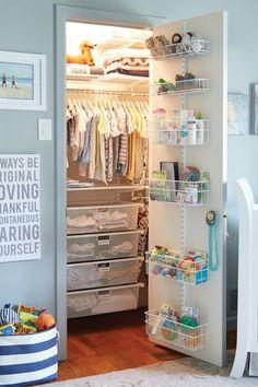 8 Ways to Make a Small Nursery Feel Bigger via @PureWow