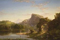 Thomas Cole, 'L'Allegro,' 1845, Los Angeles County Museum of Art