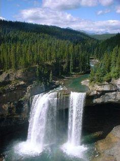Kakwa Falls, Grand Prairie, Alberta.