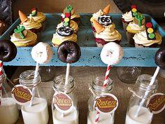 Vintage Radiator Springs Cars Themed Birthday Party