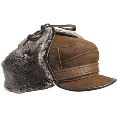 381bdcf70f1 Aston Luxe Shearling Hat (For Men)) Winter Accessories