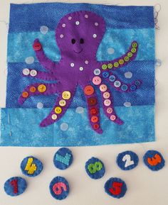 So here is page three in the series of my Under the Sea Quiet Book pages. It is very easy to sew and a perfect one for begin...