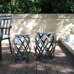 We're SPRUNG into SPRING with the latest home decor!  End Table Sets, Sofa End Tables, Table And Chairs, Metal Accent Table, Accent Tables, Large Table, Small Tables, Zen Place, Kiln Dried Wood