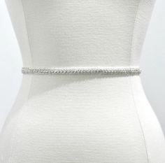 Ready to ship - Wedding Sash/Belt,Bridal Sash,lace Sash,Beaded Sash, Satin Wedding Sash