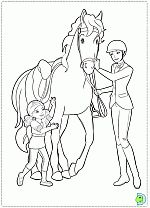 Barbie Sisters Pony Tale Coloring 01
