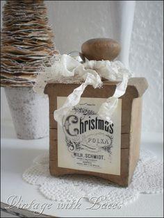 White Christmas -- Vintage Inspired Christmas