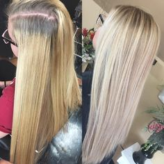 "63 Likes, 4 Comments - A M A N D A  Y U H A S | HAIR (@hairbymand) on Instagram: ""Color correction on a new client -- a much softer / natural look with easier maintenance and lots…"""