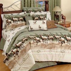 Bedroom Decor Ideas and Designs: Top Ten Equestrian and Horse Bedding