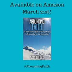 Ready to be inspired? Help spread the word. All Glory to God! www.AboundingFaith.com