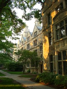 Lawyer's Quadrangle at University of Michigan, Ann Arbor, Michigan