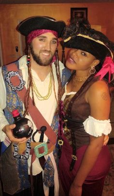 Swirling til infinity and beyond with this guy! Pirates, Halloween costume party in LA 10-22-16 ||Interracial couple #Love #WhiteMenBlackWomen #BlackWomenWhiteMen #WMBW #BWWM Find your #InterracialMatch Here interracial-dating-sites.com