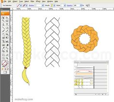 This tutorial will show you how to create a cool looking braid brush in Adobe Illustrator.