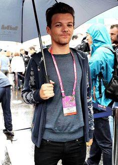 Louis at the Monaco Grand Prix!