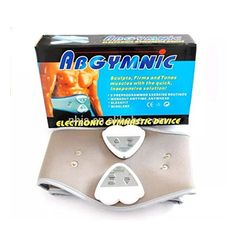 Abdominal Muscle Toning Belt Six Pack Fitness Stomach Toner Electric Abs Belt