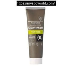 Organic Tea Tree Toothpaste 75ml  Urtekram                                                                                Sale price                                         £2.43                                          Regular price                                £2.85                                         An extra shot of the disinfecting effect.  Our toothpaste cleans effectively with the forces of nature, and it contains a strong team. The chalk we use was created millions of years…