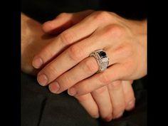 טבעת יהלומים לגבר - M47564-1