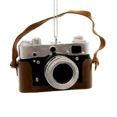Holiday Ornaments Classic Digital Camera Ornament Resin Ornament