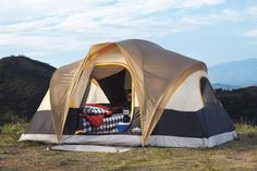 On my list: Northwoods 6-person tent. I HATE cramped camping. Best camping tents under $100
