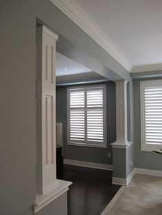 1000 images about columns on pinterest craftsman style for Interior support columns