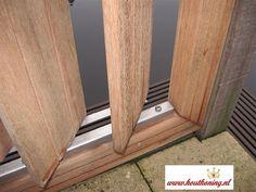 Hardwood screen: Flex Fence self-assembly package, stainless steel, 165 cm, Facade Design, Fence Design, Garden Veranda Ideas, Louvre Doors, Living Room Partition, Outdoor Rooms, Cladding, Home Interior Design, Gazebo