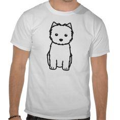 Cairn Terrier Dog Cartoon Shirts