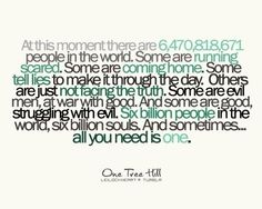 Payton Sawyer quote from One Tree Hill