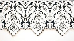 Border Stencils | Large Persian Lace Stencil | Royal Design Studio