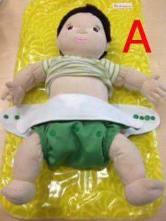 How Do I Adjust a Cloth Diaper on my Newborn? Lil Helpers can fit newborns! Who knew!