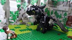 How to Train Your Dragon in Lego form. Support this on www.lego.cuusoo.com (this could become a reality).