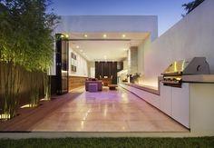 Osbourne Street residence, South Yarra, Victoria, Australia. Extension and renovation by Matt Gibson Architect + Design. Photo: John Wheatley
