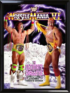 Royal Rumble 1992 Unisex Ultimate Warrior vs Hulk Hogan T-Shirt Men /& Women