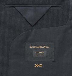 Ermenegildo Zegna has created a capsule collection to celebrate japanese craftsmanship. Tag Design, Mens Suits, Personal Style, Product Launch, Menswear, Couture, Fabric, Packing, Label