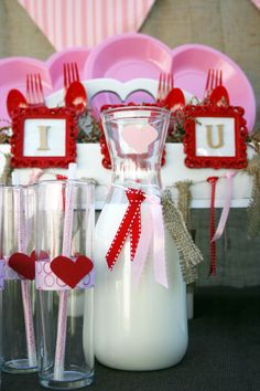 Valentines day party drink ideas carolynhortenevents.com