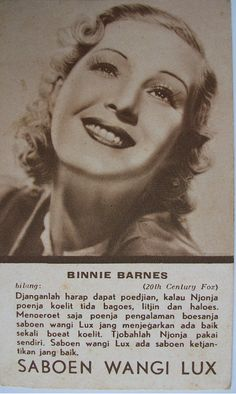 Indonesian Old Commercials: 1940