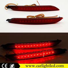 For 2012 Hyundai Elantra MDAvante LED Bumper Lights Rear Reflector 12V Red Warning LED Taillight