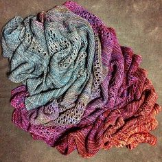 Find Your Fade by Andrea Mowry | malabrigo Sock in Persia, Zarzamora, Archangel, Velvet Grapes, Rayon Vert and Abril