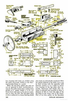 Make your own Gemstone faceting machine ( Lapidary Machine ). Page - 5
