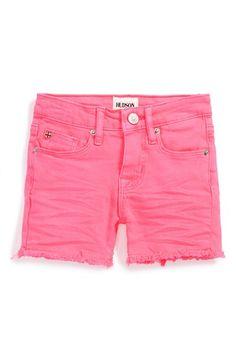 'Ava' Cutout Shorts (Baby Girls)