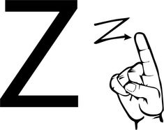 ASL Sign Language Letter Z coloring page from ASL Alphabet (American Sign Language) category. Select from 26388 printable crafts of cartoons, nature, animals, Bible and many more. Asl Letters, Sign Language Letters, Learn Sign Language, Printable Letters, Printable Crafts, Free Printable Coloring Pages, Coloring Pages For Kids, Free Coloring, Asl Signs