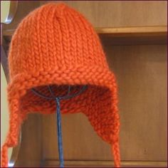 SweetP Knits: Children's Earflap Hat Pattern