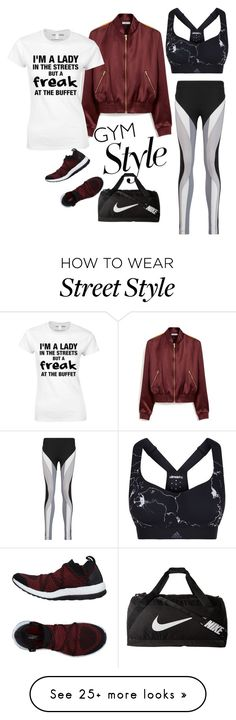 """""""Get your fit on"""" by xyz-affairs on Polyvore featuring NIKE, adidas, Mulberry and No Ka'Oi"""