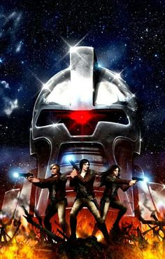 Battlestar Galactica by Clint Langley
