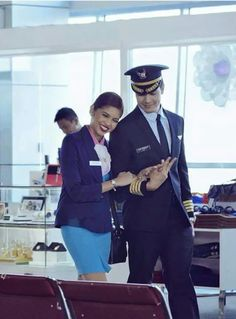 When Maine became FA and Alden became a pilot (their dream job). Their EB Lenten episode: God Gave Me You Maine Mendoza, Becoming A Pilot, Alden Richards, Pinoy, Dream Job, Vegetable Chips, How To Become, Give It To Me, Lenten