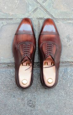 Septieme largeur (maison mens shoes brown Repinned by www.silver-and-grey.com