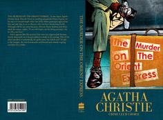 Agatha Christie Book Cover Design and Promotion by Chris Cech, via Behance