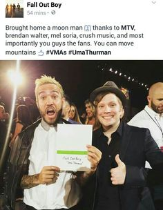 Congratulations FOB!!! Omg they're so cute :3