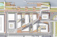 Ecotourism Landscape Architecture And Urban Planning Masterplan Architecture, Architecture Student, Facade Architecture, Landscape Architecture, Landscape Plans, Urban Landscape, Landscape Design, Architecture Concept Drawings, Site Plans
