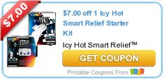 $7.00 off 1 Icy Hot Smart Relief Starter Kit